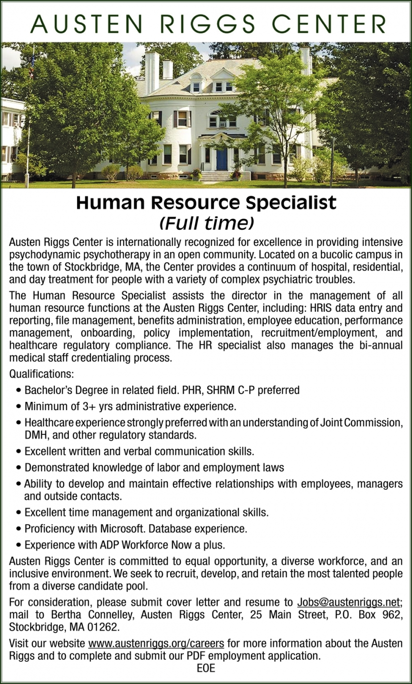 Human Resource Specialist