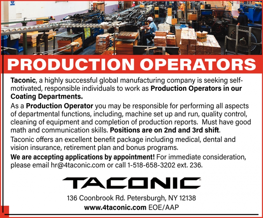 Production Operators