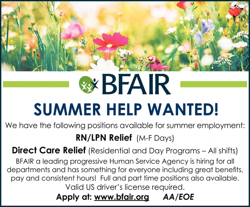 RN/LPN Relief & Direct Care Relief