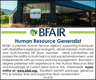 Human Resource Generalist