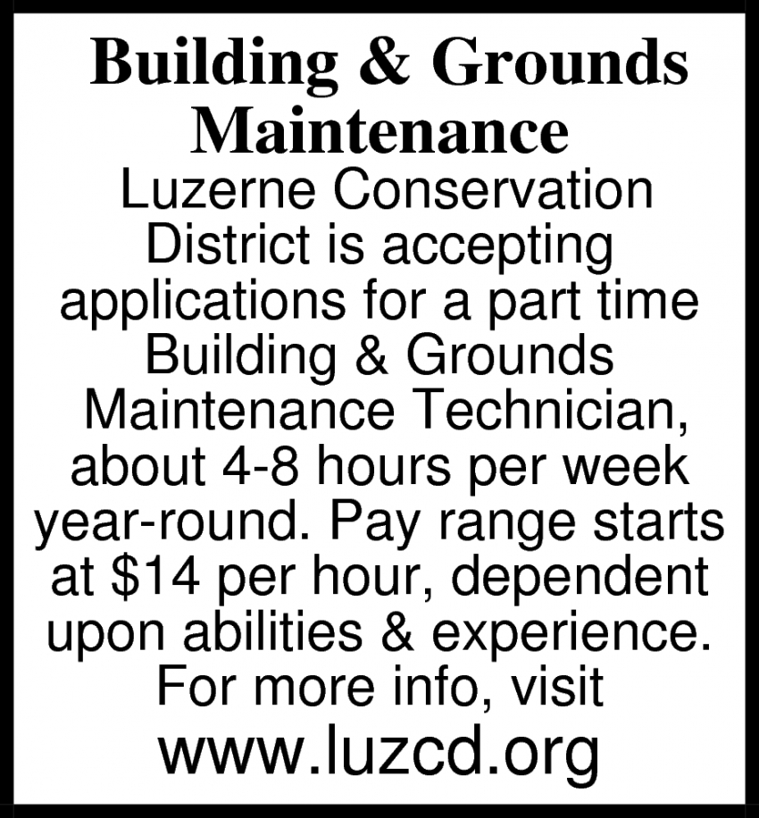 Building & Grounds Maintenance