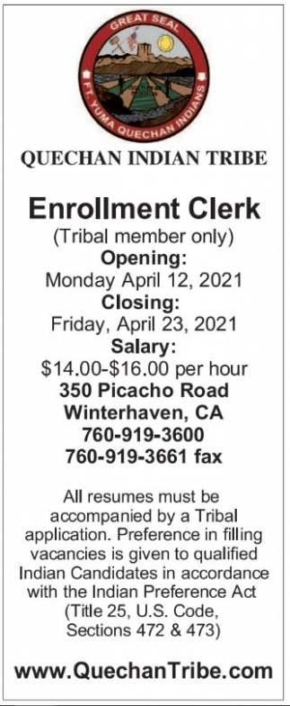 Enrollment Clerk