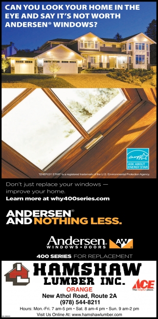 Don't Just Replace Your Windows - Improve Your Home.
