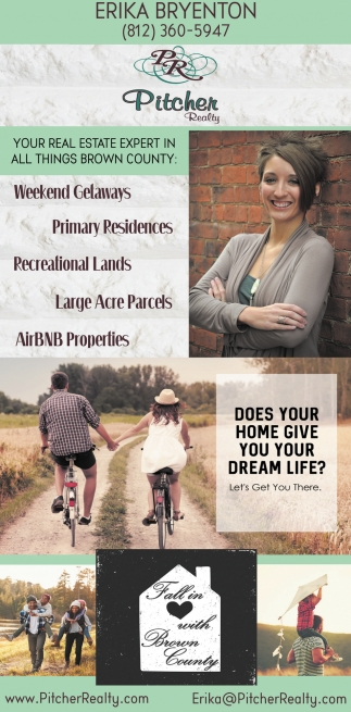 Your Real Estate Expert In All Things Brown County
