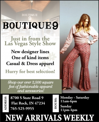 Just In From The Las Vegas Style Show