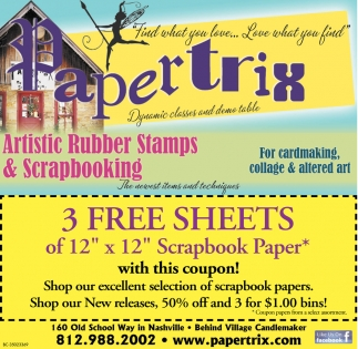 Artistic Rubber Stamps & Scrapbooking