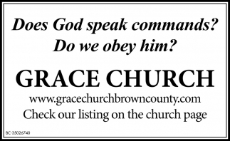 Does God Speak Commands? Do We Obey Him?