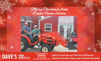 Merry Christmas From Dave's Farm Service