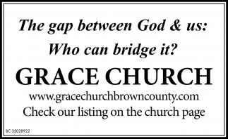 The Gap Between God & Us: Who Can Bridge It!