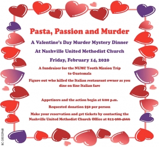 Pasta, Passion And Murder