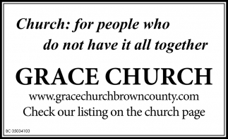 Church: For People Who Do Not Have It All Together