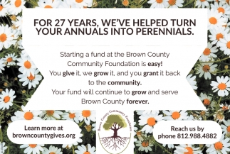 For 27 Years, We've Helped Turn Your Annuals Into Perennials