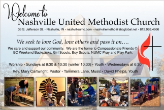 Welcome To Nashville United Methodist Church