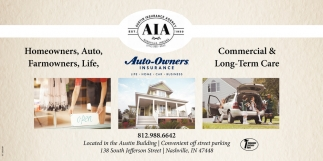 Homeowners - Auto - Farmowners - Life