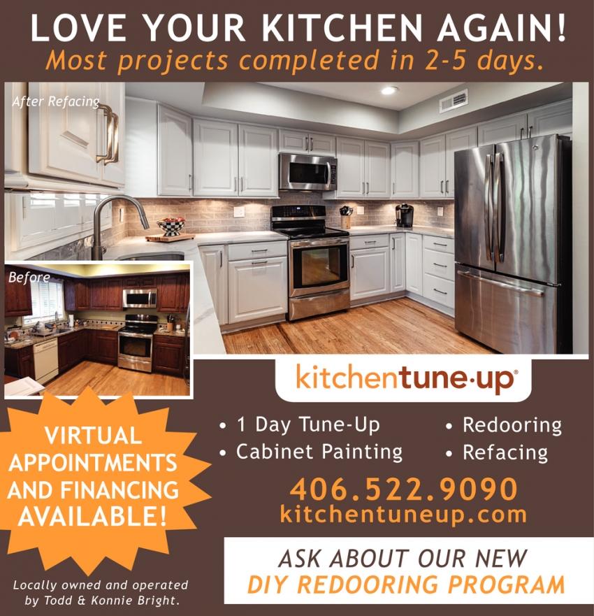 Kitchen Tune Up Cabinets 2022