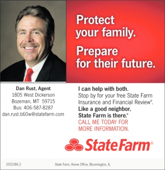 protect your family dan rust state farm bozeman mt family dan rust state farm bozeman mt