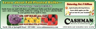 Fall-Planted Bulbs