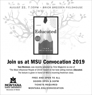 Join us at MSU Convocation 2019
