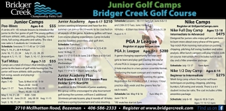 Junior Golf Camps