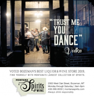 Bozeman' Best Liquor & Wine Store