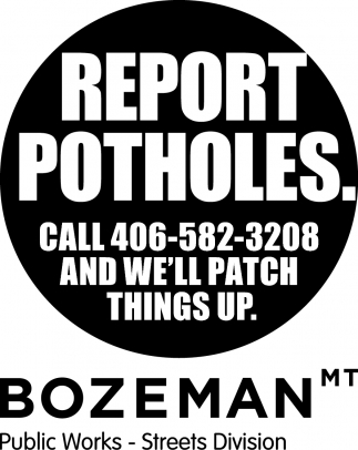 Report Potholes