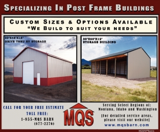 Post Frame Buildings