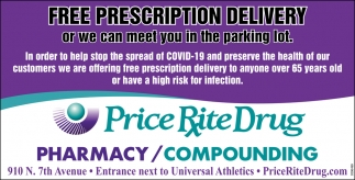 Free Prescription Delivery
