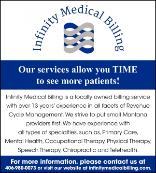Our Services Allow You Time to See More Patients