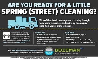 Spring Street (Street) Cleaning