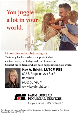 Kay A. Bright - Farm Bureau Financial Services