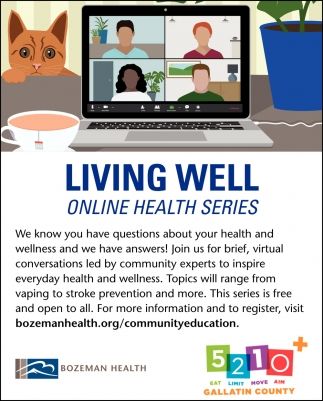 Living Well Online Health Series