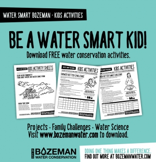Be A Water Smart Kid!