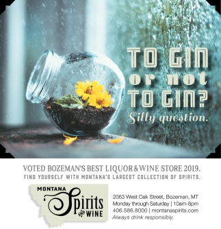 To Gin or Not to Gin?