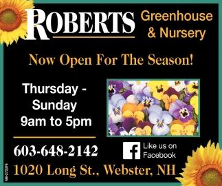 Roberts Greenhouse Nursery