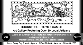 Bookstore - Toys - Games