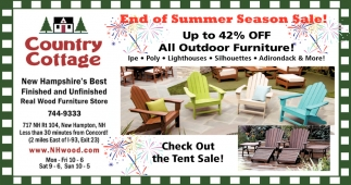 End Of Summer Season Sale!