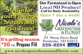 Stop In For Your Flowers, Shrubs And Fruit Trees!
