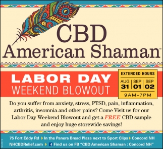 Labor Day Weekend Blowout