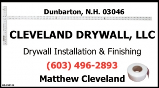 Drywall Installation & Finishing