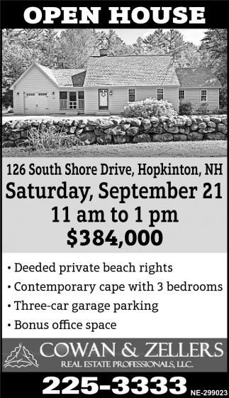126 South Shore Drive, Hopkinton