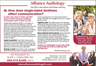 How Does Single-Side Deafness Affect Communication?