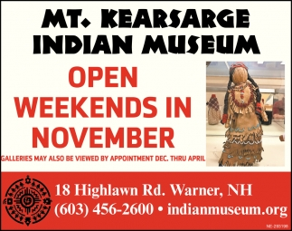 Open Weekends In November