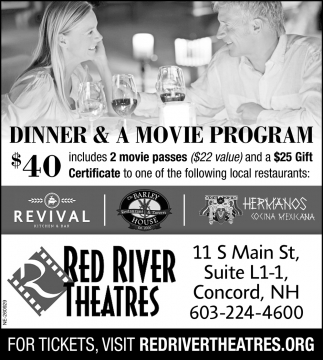 Dinner & A Movie Program