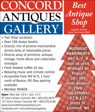 Best Antique Shop