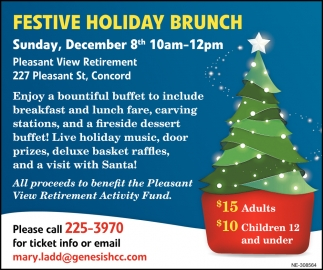 Festival Holiday Brunch