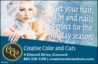 Get Your Hair, Skin And Nails Perfect For The Holiday Season!