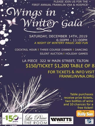 Wings In Winter Gala