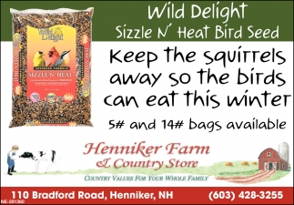 Wild Delight Sizzle N' Heat Bird Seed