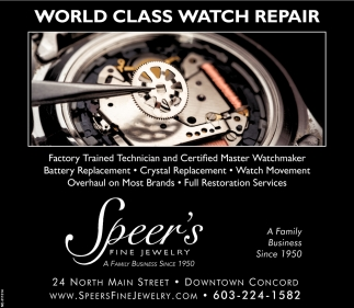 World Class Watch Repair