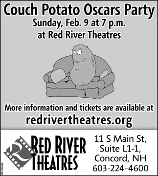 Couch Potato Oscars Party